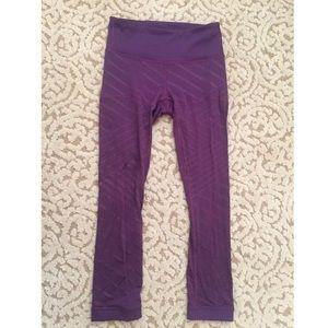 Lululemon Purple Leggings Size 2